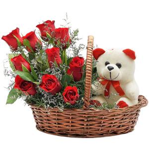 Send Valentine day flower muscat oman