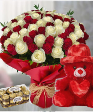 valentine flower muscat delivery